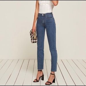 Reformation Julia High Rise Cigarette Jean